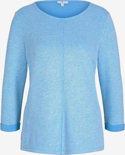 TOM TAILOR Sweatshirt in hellblau, Produktansicht