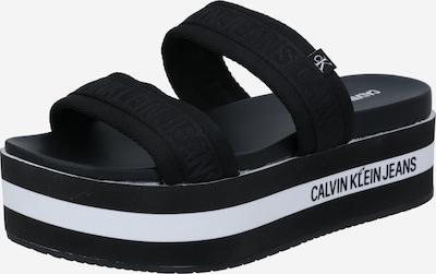 Calvin Klein Jeans Sandale in schwarz, Produktansicht