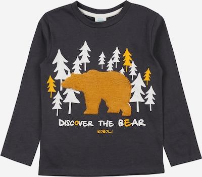 Boboli Camiseta en miel / antracita / blanco, Vista del producto