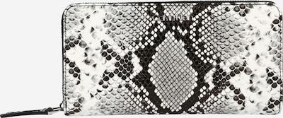 Calvin Klein Geldbörse in hellgrau / schwarz / weiß, Produktansicht