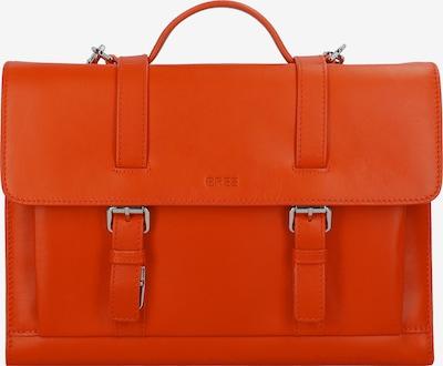 BREE Aktentas in de kleur Sinaasappel, Productweergave