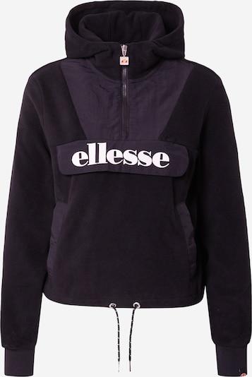 ELLESSE Πουλόβερ 'Navu' σε μαύρο / λευκό, Άποψη προϊόντος