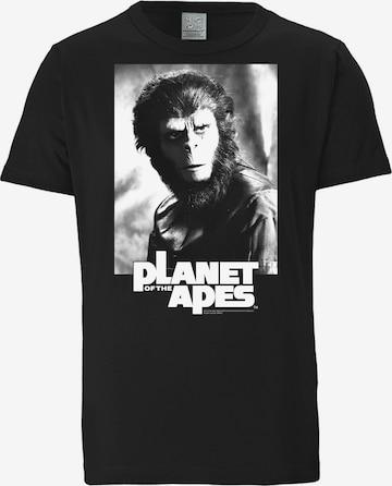 LOGOSHIRT Shirt in Black