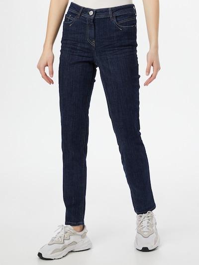 CECIL Jeans in de kleur Donkerblauw, Modelweergave