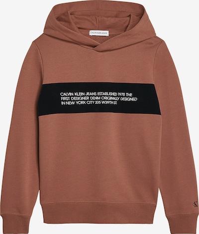Calvin Klein Jeans Hoodie in bronze, Produktansicht