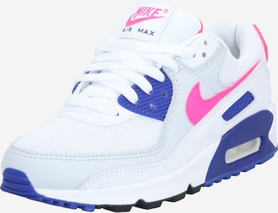 Nike Sportswear Sneakers low 'AIR MAX 90' in Blue / Pink / White, Item view