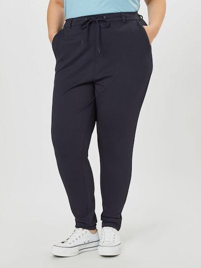 Pantaloni 'Maddison' Zizzi pe albastru noapte, Vizualizare model