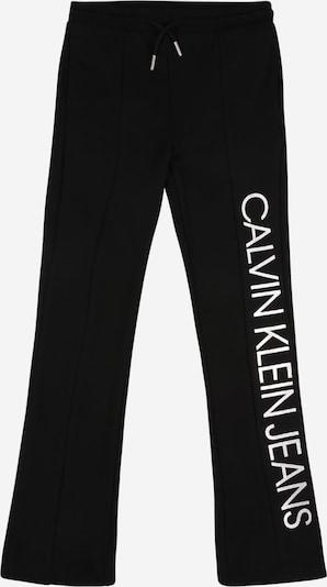 Calvin Klein Jeans Hlače u crna / bijela, Pregled proizvoda
