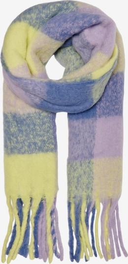 ONLY Šál 'Sunny' - kráľovská modrá / žltá / svetlofialová, Produkt
