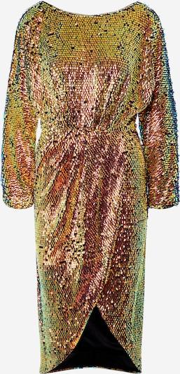 TFNC Robe de soirée en or / mélange de couleurs, Vue avec produit