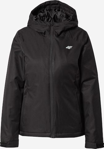 4F Αθλητικό μπουφάν σε μαύρο