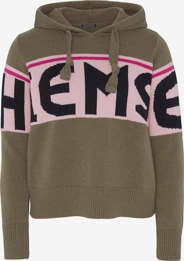 CHIEMSEE Sweatshirt in oliv / pink, Produktansicht