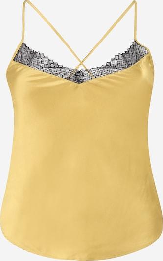 ETAM Chemise de nuit 'SEPIA' en jaune / noir, Vue avec produit