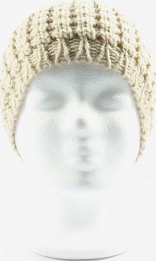 MANGO Hat & Cap in XS-XL in Cream, Item view