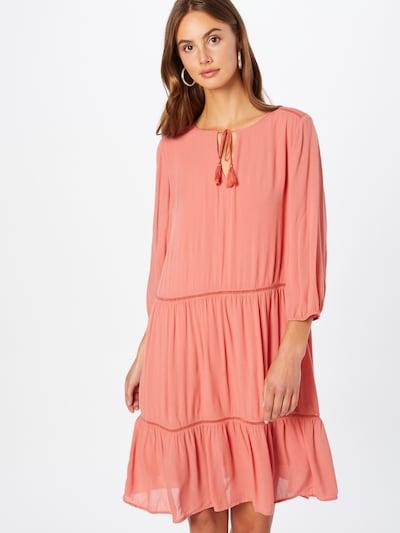 COMMA Kleid in koralle, Modelansicht