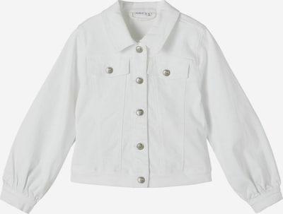 NAME IT Jacke 'Ataccas' in weiß, Produktansicht