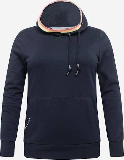 Ragwear Plus Sweatshirt in navy / hellgelb / pink / weiß, Produktansicht