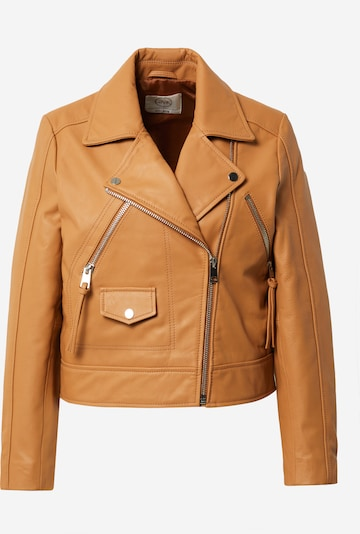 Guido Maria Kretschmer Collection Lederjacke 'Kasha' in braun / cognac, Produktansicht