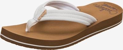 REEF Strand-/badschoen 'Cushion Breeze' in de kleur Wit, Productweergave