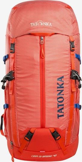 TATONKA Rucksack 'Cima Di Basso' in blau / grau / orange / weiß, Produktansicht