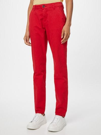 Pantaloni eleganți s.Oliver pe roșu, Vizualizare model