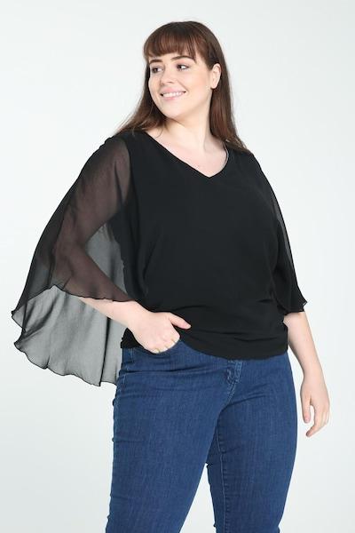 Promiss Bluse in schwarz, Modelansicht
