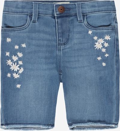 OshKosh Jeans in de kleur Blauw denim / Perzik / Wit, Productweergave