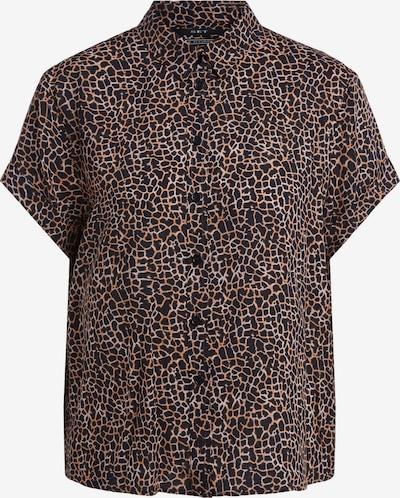 SET Bluse in braun / schwarz, Produktansicht