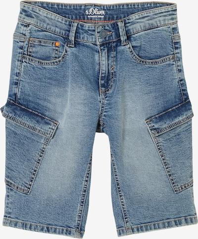 s.Oliver Jeans in de kleur Blauw, Productweergave