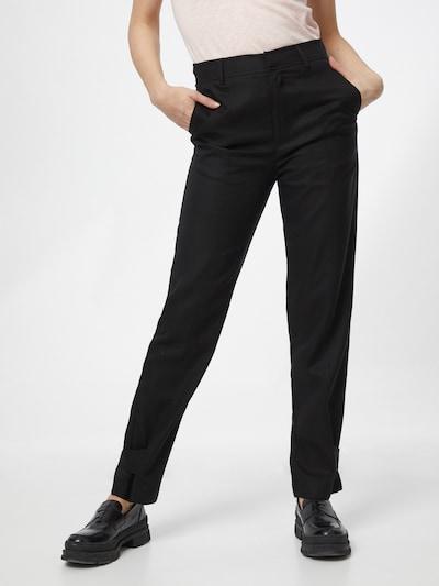 Samsoe Samsoe Hose 'Citrienne' in schwarz, Modelansicht