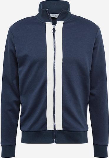 !Solid Mikina s kapucí - námořnická modř / bílá, Produkt