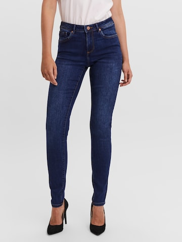 VERO MODA Jeans 'TANYA' in Blauw
