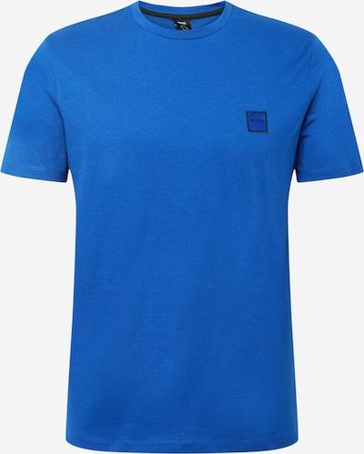 Marškinėliai 'Tales' iš BOSS Casual, spalva – mėlyna / juoda, Prekių apžvalga