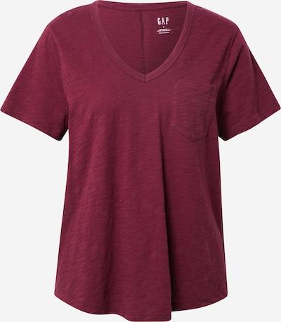 GAP T-shirt en lie de vin, Vue avec produit