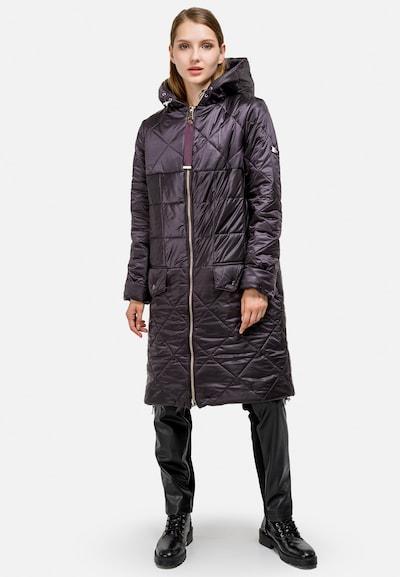 HELMIDGE Wintermantel in de kleur Lila, Modelweergave