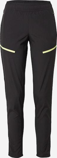 PUMA Pantalon de sport en jaune fluo / noir, Vue avec produit