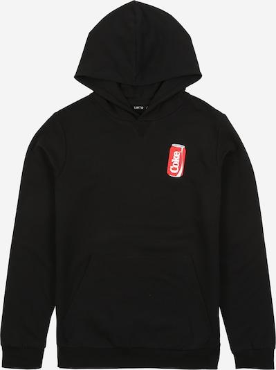 LMTD Sweater majica u svijetlocrvena / crna / bijela, Pregled proizvoda