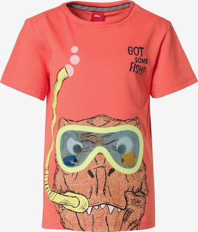 s.Oliver T-Shirt in mischfarben / lachs, Produktansicht