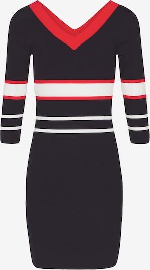 Morgan Kleid in nachtblau / rot / weiß, Produktansicht