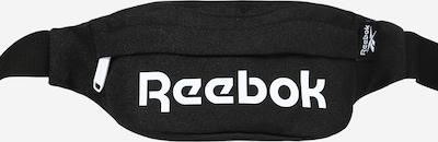 REEBOK Urheiluvyölaukku värissä musta / valkoinen, Tuotenäkymä