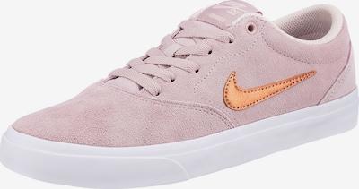 Nike SB Baskets basses en caramel / rose ancienne, Vue avec produit