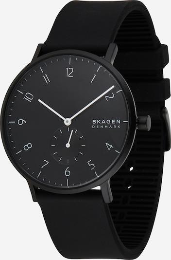 SKAGEN Uhr 'Aaren' in schwarz, Produktansicht