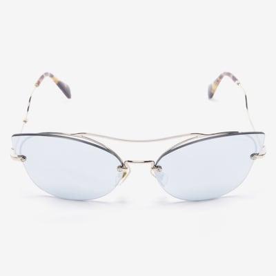 Miu Miu Sunglasses in One size in Cognac, Item view