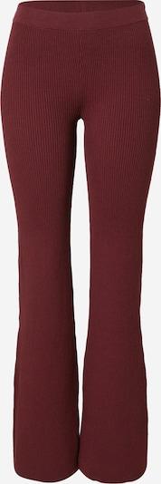WEEKDAY Pantalon 'Orina' en rouge foncé, Vue avec produit