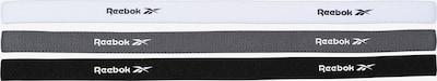 REEBOK Bandeau de transpiration en gris / noir / blanc, Vue avec produit