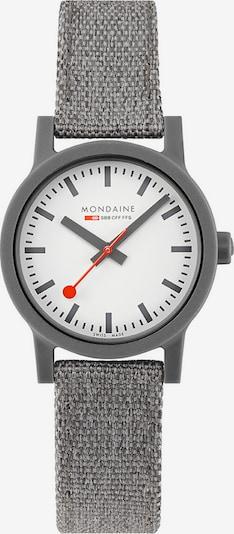 Mondaine Unisex-Uhren Analog Quarz ' ' in grau, Produktansicht
