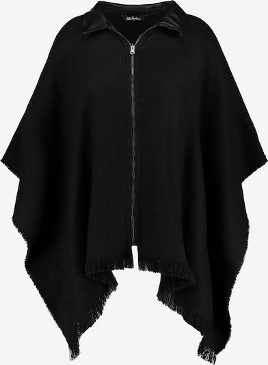 Ulla Popken Cape '798351' en noir, Vue avec produit