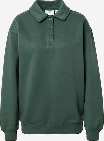Daisy Street Sweatshirt in Green