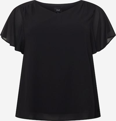 Zizzi Blusa 'XJAGGER' en negro, Vista del producto
