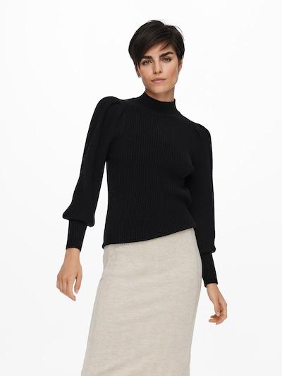 ONLY Trui 'KATIA' in de kleur Zwart, Modelweergave
